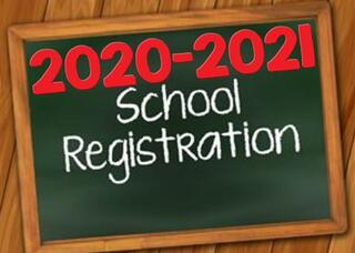 School Enrollment for  2020-2021